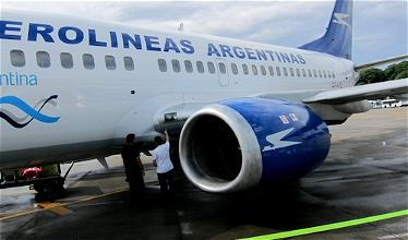 To Mendoza for the Masters of Food & Wine: Aerolineas Argentinas from Mendoza (MDZ) to Buenos Aires (AEP)