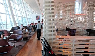 Beaches and Mountains: Virgin Atlantic Clubhouse New York, Swiss Business Lounge New York