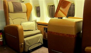 Beaches and Mountains: Singapore Airlines First Class New York to Frankfurt