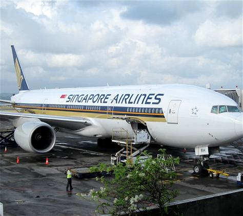 Bali and Berchtesgaden: Singapore Airlines Business Class Bali to Singapore
