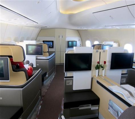 Bali and Berchtesgaden: Lufthansa 747-8 First Class Frankfurt to Washington Dulles