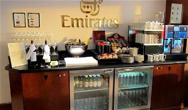Bling it on: Emirates Lounge London Heathrow (after a surprise!)