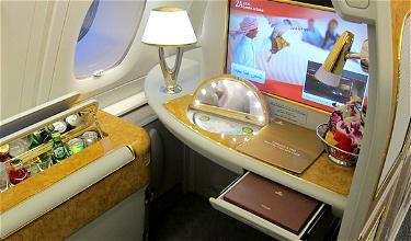Bling it on: Emirates First Class London Heathrow to Dubai