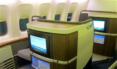 Bling it on: Cathay Pacific First Class New York JFK to Vancouver
