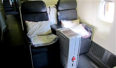 Vienna to Istanbul via Tokyo: Turkish Business Class Tokyo Narita to Istanbul