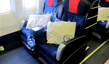 Vienna to Istanbul via Tokyo: LOT Business Class Warsaw to Chicago