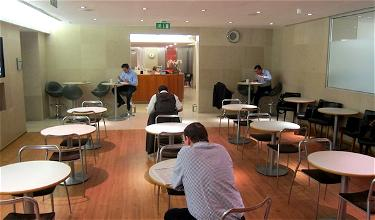 OneWorld Welcome: American Airlines Arrivals Lounge London