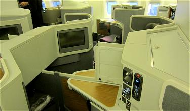 """The """"New"""" American to Europe: American Airlines Business Class New York to London"""