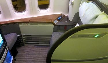 A Royal (dis)HHonor: Cathay Pacific First Class Hong Kong to San Francisco