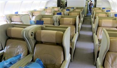 Review: Singapore Airlines Business Class Bangkok to Singapore