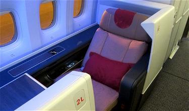 Review: Air China Business Class Paris to Beijing