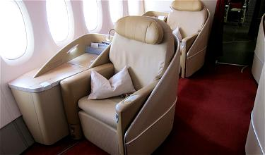 Review: Air France A380 First Class Los Angeles to Paris