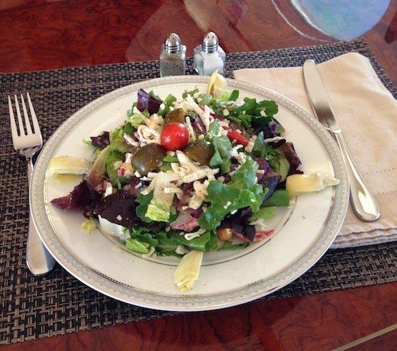 Salad/Antipasto plate