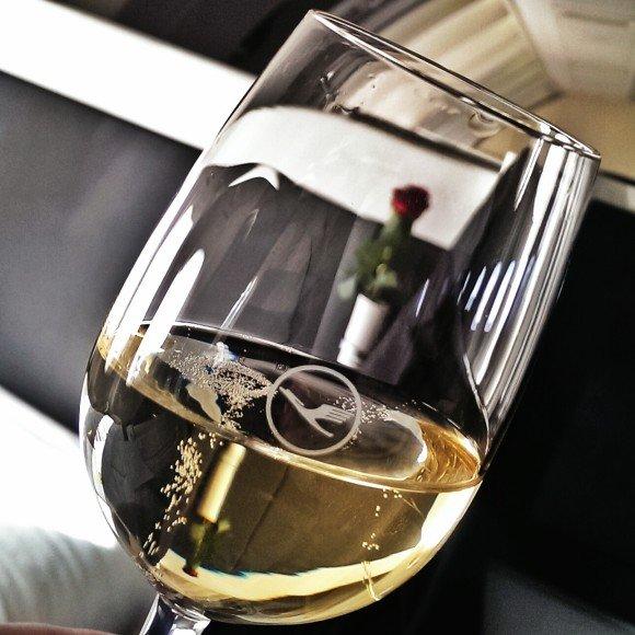 Lufthansa-Champagne