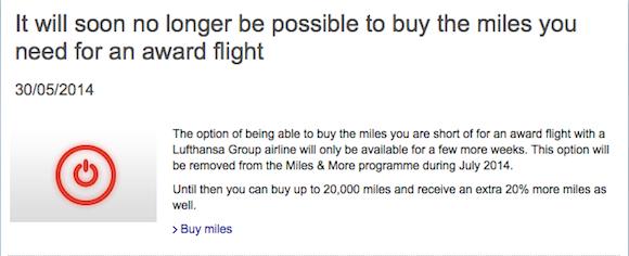 Lufthansa-Buy-Miles