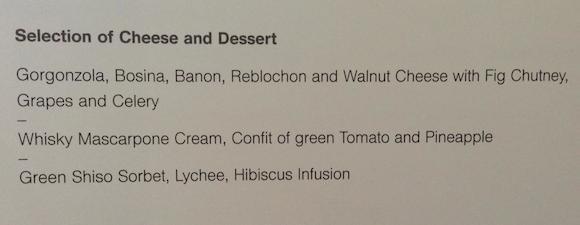 Lufthansa-first-class-dessert