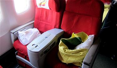 Review: Ethiopian Airlines Business Class 767 Addis Ababa To Frankfurt