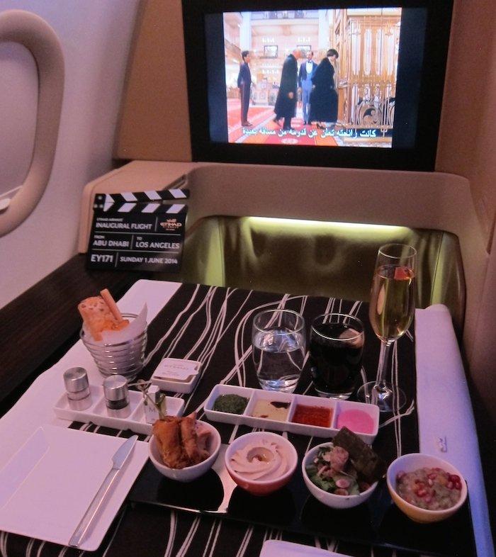 Etihad-First-Class-Food