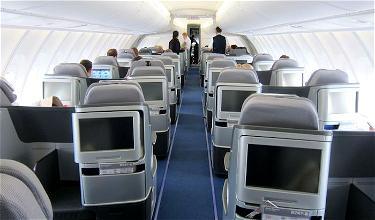 Lufthansa 747-8 New Business Class Frankfurt to Washington