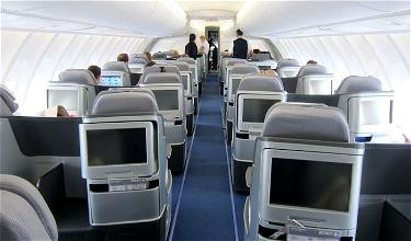 Review: Lufthansa Business Class 747-8 Frankfurt to Washington