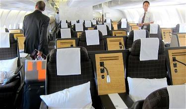 Review: Swiss Business Class A330 Zurich To Beijing