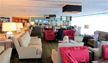 Review: British Airways Concorde Room New York JFK