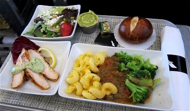 Positive American First Class Catering Changes Coming