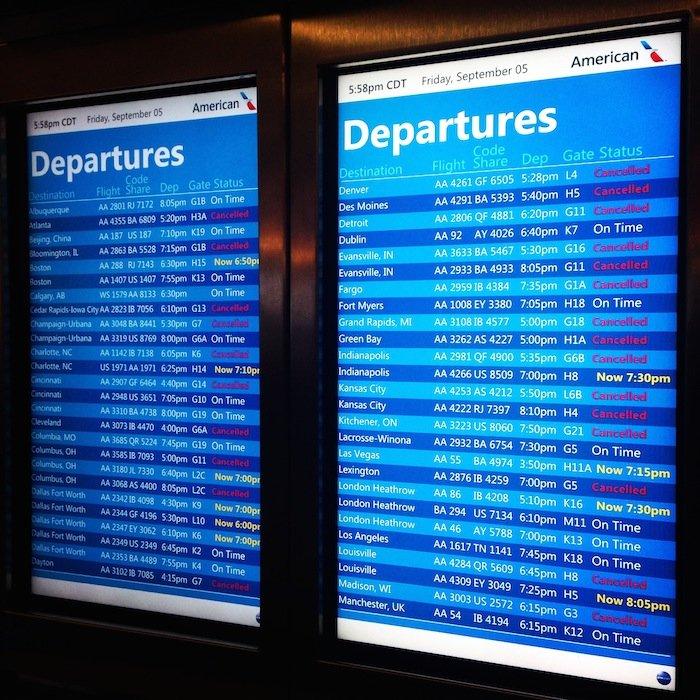 Chicago-Delays