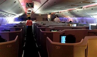 Review: American Business Class 777-300ER Dallas To Hong Kong