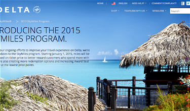 Delta SkyMiles 2015 Worldwide Award Chart Details