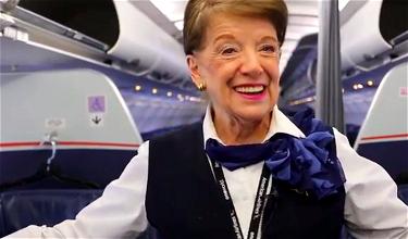 Meet The Most Senior Flight Attendant In The World