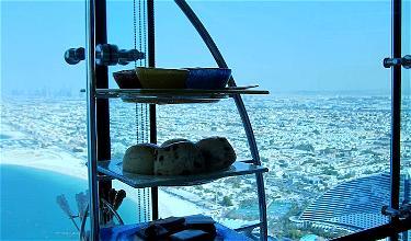 Review: Afternoon Tea At Skyview Bar Burj Al Arab