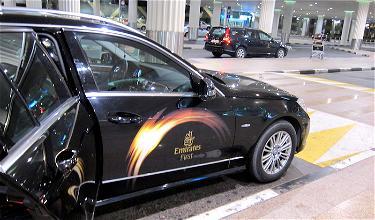 How To Still Get Emirates Chauffeur On Alaska Award Tickets