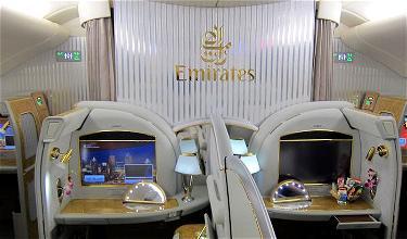 Review: Emirates First Class A380 Dubai To Singapore