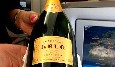 EVA Air Is Now Serving Krug Champagne In Business Class!