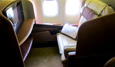 Review: Singapore Airlines First Class 777-300ER Singapore To Melbourne