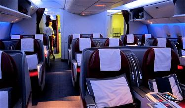Review: Qatar Airways First Class 777-300ER Cairo To Doha