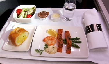Cathay Pacific Is Rolling Out Dine On Demand In Business Class This Year