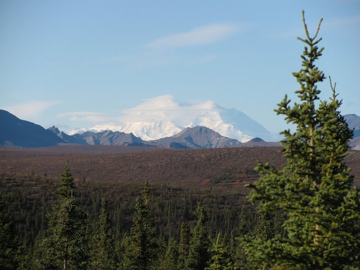 Rule #1: When you see Mt. McKinley, shoot it! This is a very shy mountain.