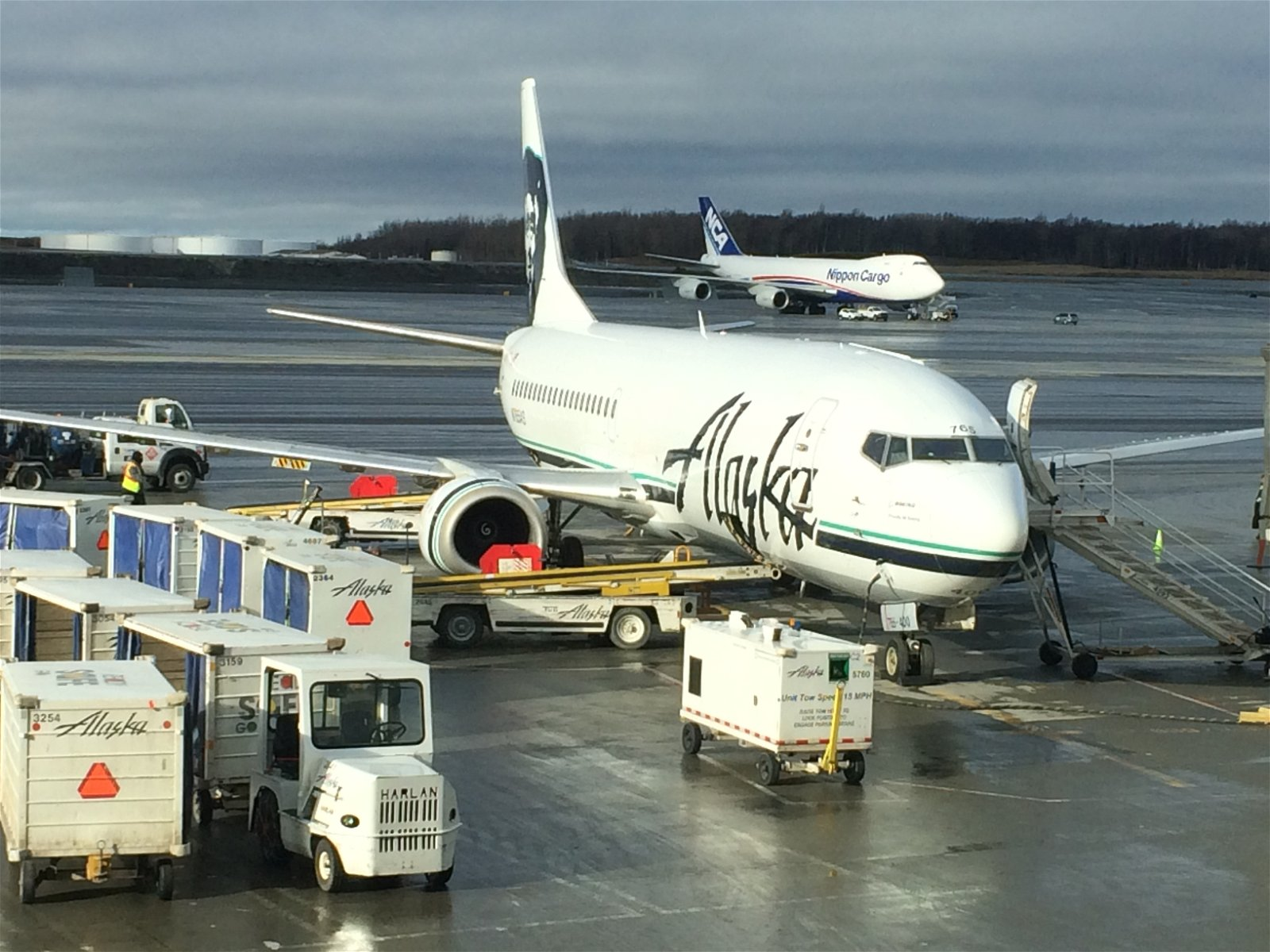 It turns out that Alaska planes aren't just in Seattle.