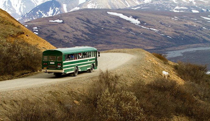 Who doesn't want to ride this bus for 184 miles? (Photo courtesy nps.gov)
