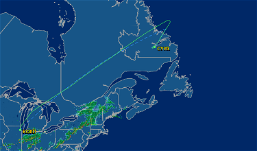 United Strands Hundreds In Remote Goose Bay Canada For 20 Hours