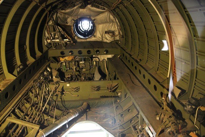 The business end of the KC-97