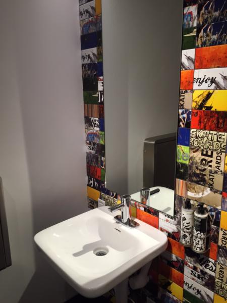 Virgin Atlantic Clubhouse LAX bathroom