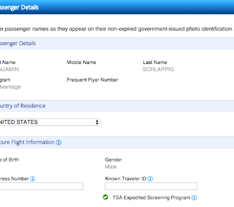Do You Need To Put Your Middle Name On Airline Tickets?