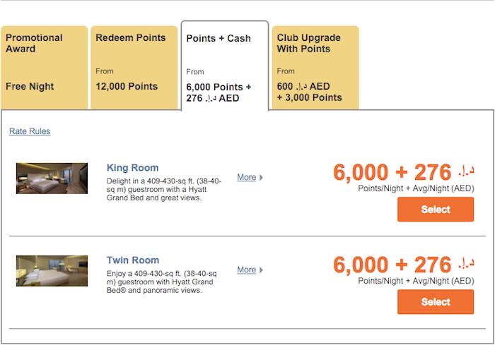 Hyatt-Points-Cash-Online