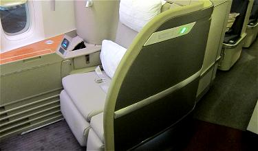 Cathay Pacific's Minor First Class Service Cuts