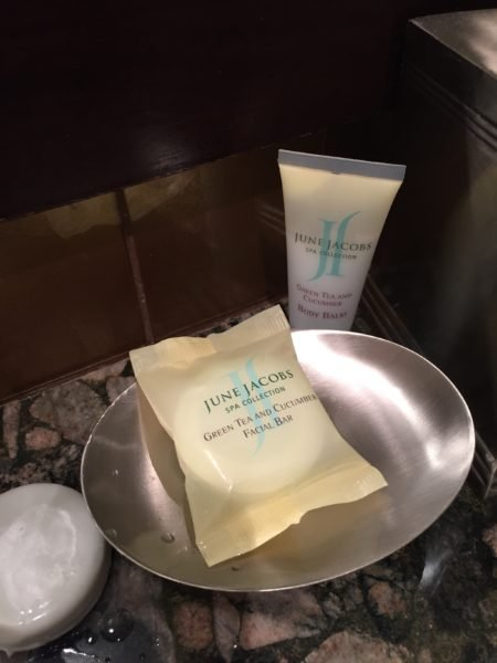 June Jacobs Spa Collection toiletries