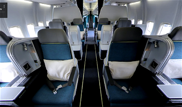 Aer Lingus' Snazzy New 757 Business Class
