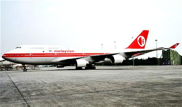 Malaysia Airlines' Puzzling Revived 747 Is Back In Service!